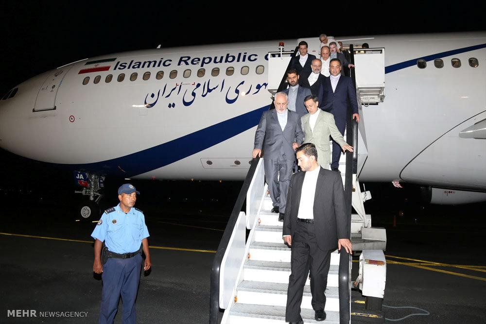 ورود وزیر امور خارجه به نیکاراگوئه