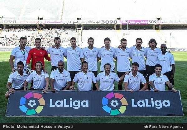 ستارگان ایران ۱ - ۴ منتخب لالیگا