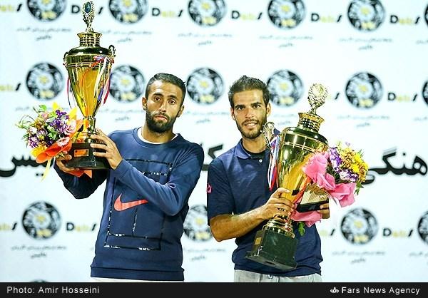 فینال مسابقات تنیس جایزه بزرگ در اصفهان