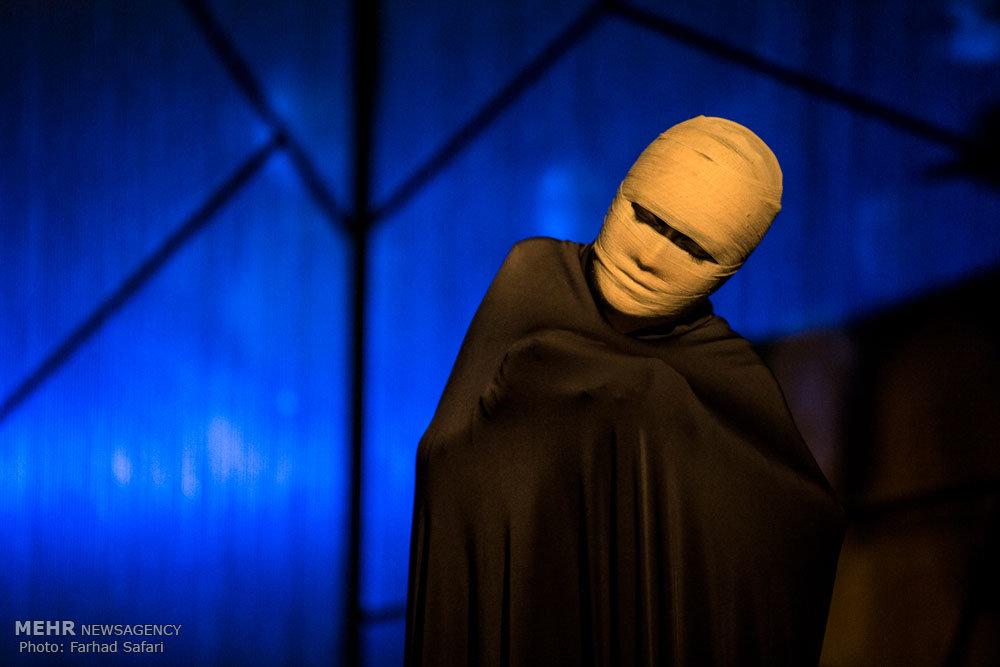 اجرای نمایش قاقمان در قزوین