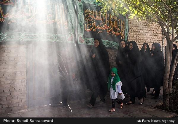 عزاداری روز عاشورا در روستای باغخواص ورامین