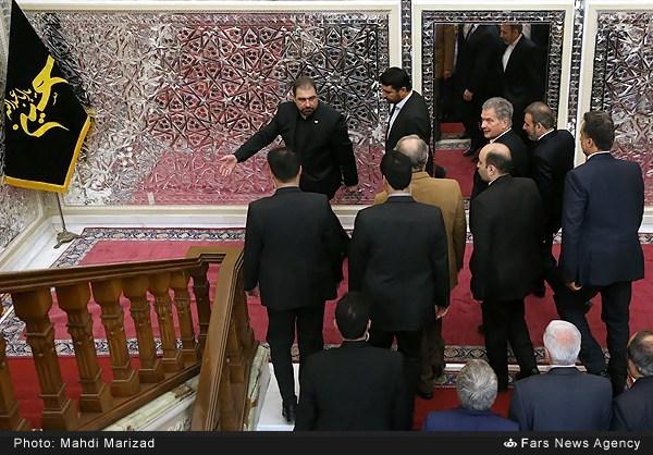 دیدار رئیس جمهور فنلاند با رئیس مجلس شورای اسلامی