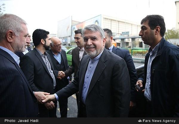 بازدید وزیر فرهنگ و ارشاد اسلامی در روز کتابگردی