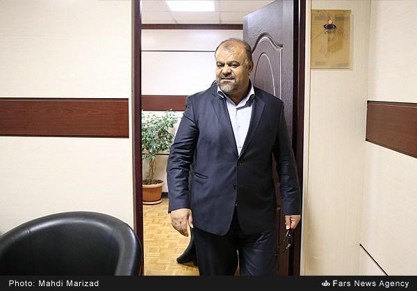 حضور رستم قاسمی در خبرگزاری فارس