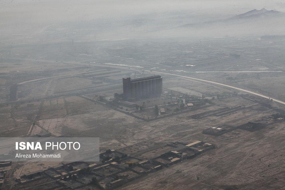 خوزستان در احاطه دود هورالعظیم