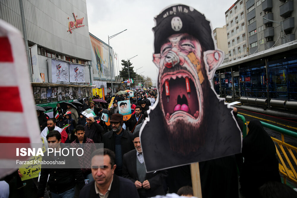 کاملترین تصاویر از راهپیمایی ۲۲ بهمن ۹۷