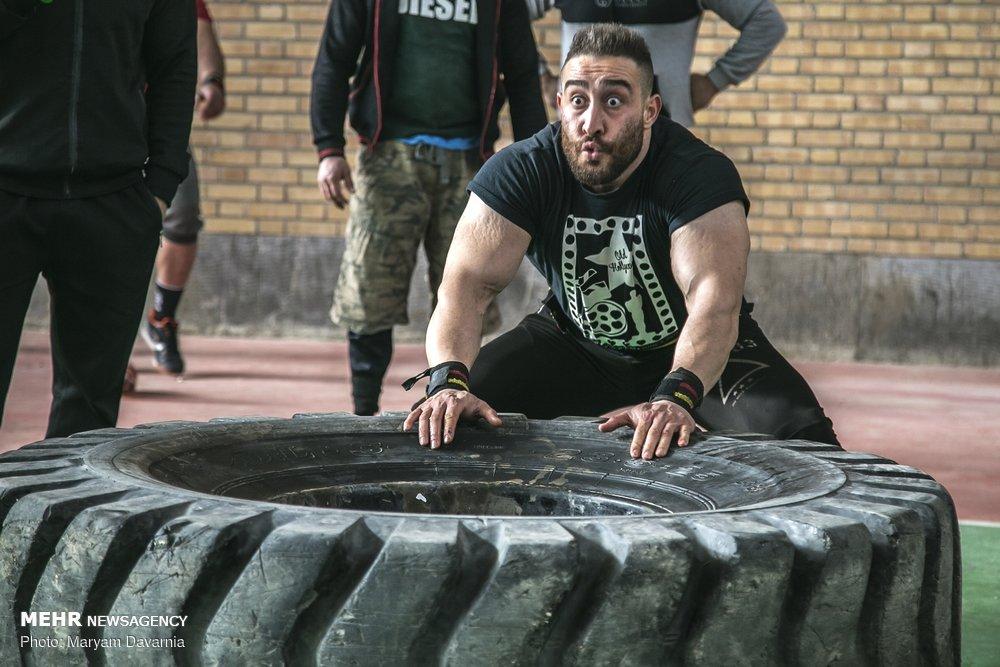 گزارش مسابقات قویترین مردان خراسان شمالی + تصاویر