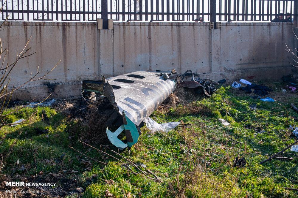 گزارش کامل از سقوط بوئینگ ۷۳۷ اوکراینی + فیلم / تصاویر