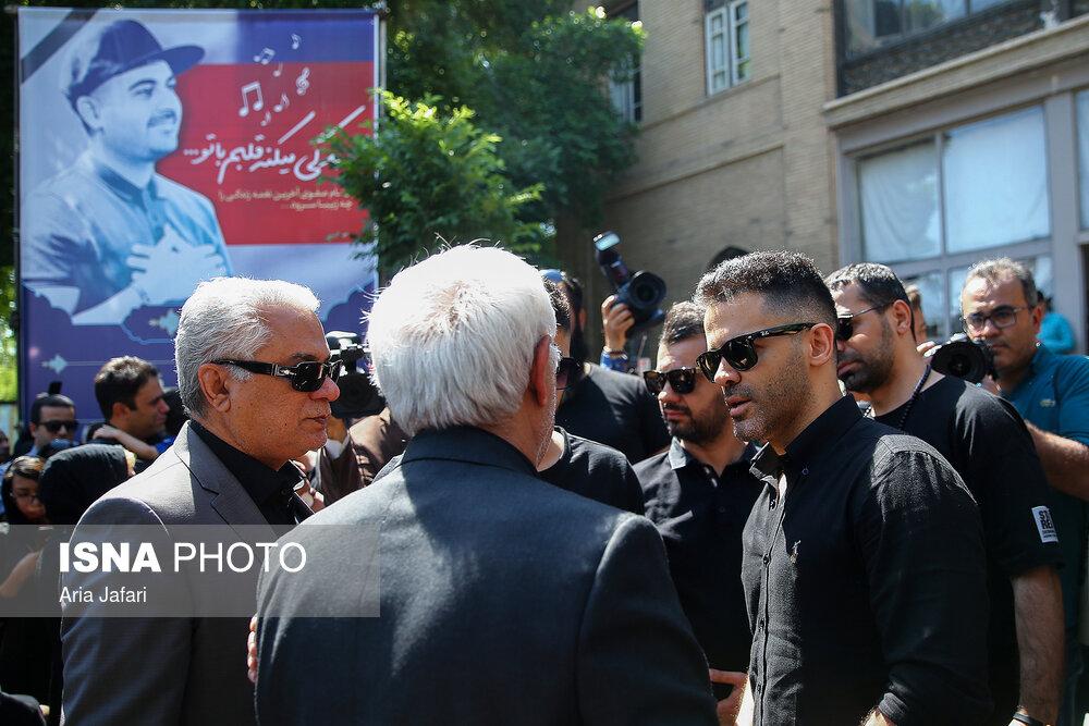 تشییع و خاکسپاری بهنام صوفی در شاهین شهر