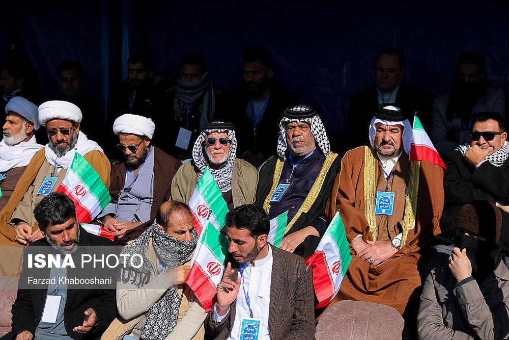 تصاویر راهپیمایی ۲۲ بهمن ۹۸ در تهران
