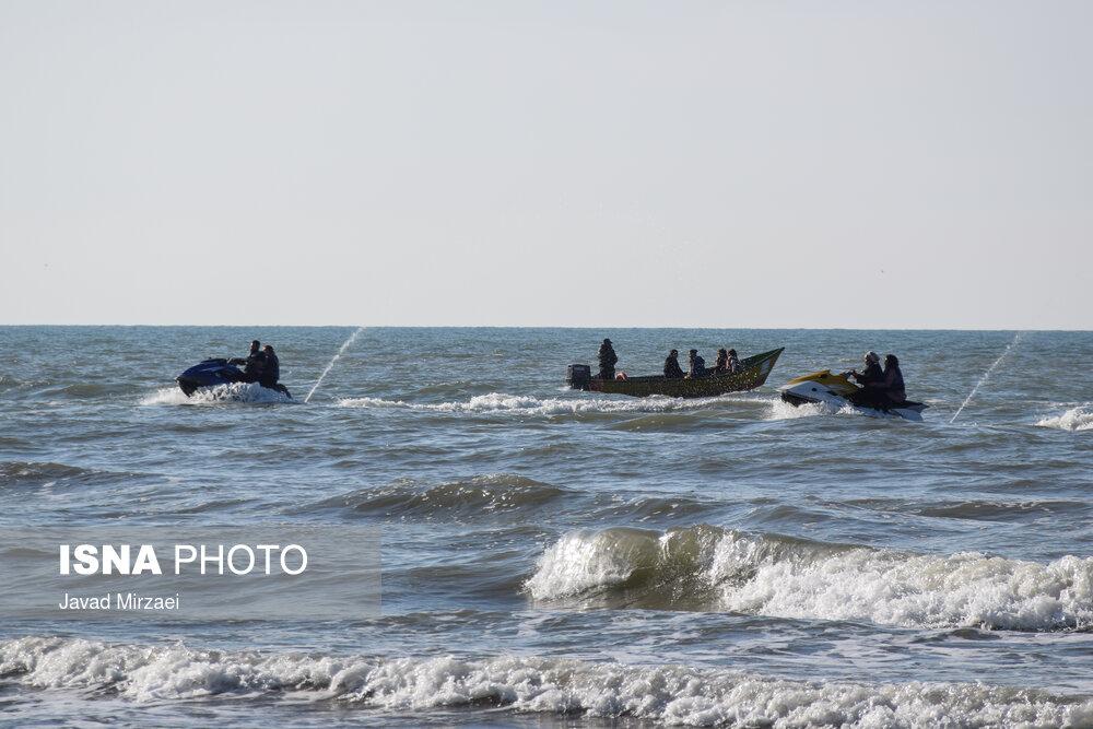 مسافران بی ماسک نوروز 1400 در مازندران!