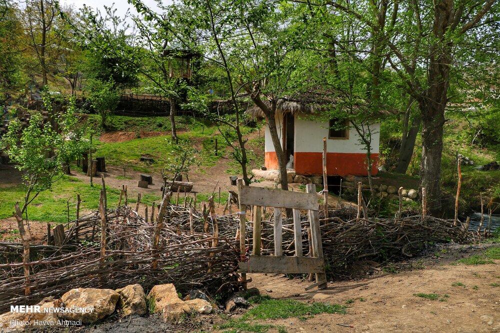 تصاویر آسیاب آبی روستای دینه سر مازندران