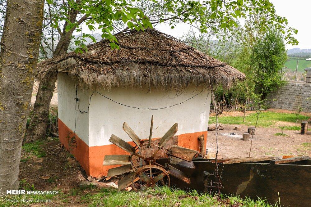 آسیاب آبی روستای دینه سر مازندران