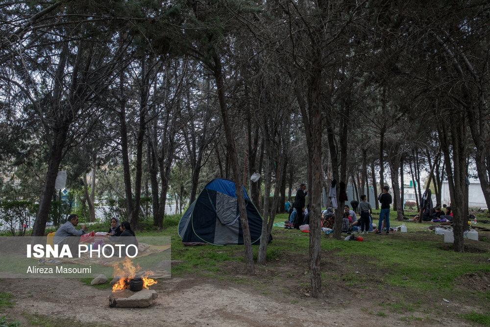 سیزده بدر ۱۴۰۰ در تهران