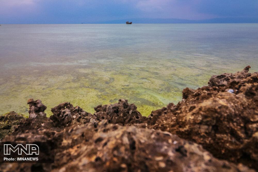 جزیره زیبای کیش در روز ملی خلیج فارس
