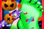 بازی دکتر ناخن دیوانه هالووین