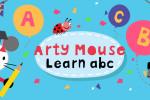 بازی یادگیری ABC با موش هنرمند