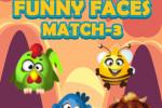 بازی پازل صورت های خنده دار