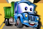 بازی پازل کودکانه کامیون ها