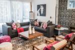 40 ترکیب رنگ پر طرفدار طوسی صورتی در دکوراسیون داخلی منزل