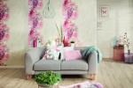 آلبوم کاغذ دیواری سه بعدی طرح گل
