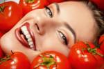 ماسک گوجه فرنگی ، بهترین ماسک روشن کننده پوست صورت
