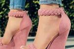 عکس مدل کفش مجلسی مطابق با آخرین مد روز خانم های ایرانی