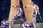 کفش پاشنه بلند مجلسی مخصوص خانم های شیک پوش (۲)