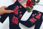 کفش پاشنه بلند مجلسی دخترانه شیک برای دختر خانم های لاکچری