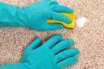 ۱۱ روش جادویی برای پاک کردن لکه از روی فرش