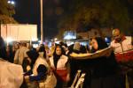 تصادف ۲ خودرو ون در ۱۰ کیلومتری شهر العماره عراق