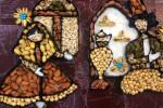تزیین آجیل عروس جدید برای یلدا و نوروز ۹۸