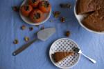 ۴ مرحله جهت تهیه کیک خیس و اسفنجی خرمالو و گردو