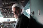 فیلم سلفی حسن روحانی در کابین خلبان