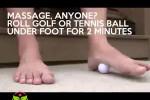رفع خستگی پا با چند نرمش فوقالعاده
