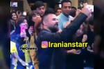 سلفی حاشیه ساز هومن سیدی با طرفداران بد حجاب در شیراز