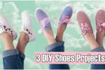 آموزش ۳ مدل تزیین و طراحی کفش های قدیمی و ساده