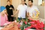 سوپرایز دختر سرطانی توسط رضا بهرام خواننده معروف
