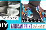 آموزش بازسازی و کاور کفش های کهنه