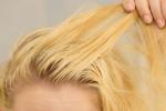 روش شست و شو و آرایش موهای چرب