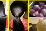 تاثیر فوق العاده آب پیاز بر رشد مجدد موها + تهیه ماسک های خانگی