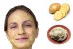 ۱۰ نمونه ماسک سیب زمینی برای درخشندگی پوست