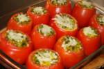 آموزش تصویری دلمه گوجه فرنگی با مایه شبت باقلا