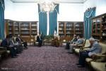 تصاویر دیدار مسئولان سازمان اسنادو کتابخانه ملی با رئیس مجمع تشخیص مصلحت
