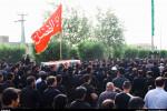 تصاویر تشییع شهدای تیراندازی در حسینیه دزفول