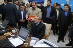 تصاویر ثبت نام علی لاریجانی در دهمین دوره انتخابات مجلس شورای اسلامی