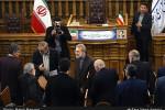 تصاویر نشست خبری علی لاریجانی