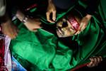 تصاویر وداع با پیکر سردار شهید شعبان نصیری