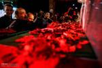 تصاویر وداع با پیکر شهید مدافع حرم حیدر جلیلوند