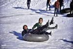 برف بازی در دشت سرعلی آباد گلستان !